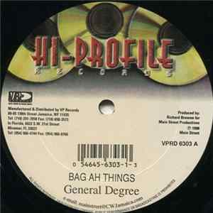 General Degree / Merciless - Bag Ah Ting / Ashes To Ashes Album Mp3