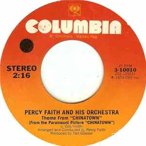 "Percy Faith And His Orchestra - Theme From ""Chinatown"" / Fifth Movement (Tubular Bells) Album Mp3"