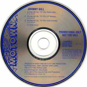 Johnny Gill - Giving My All To You Album Mp3