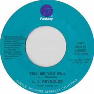 L. J. Reynolds - Tell Me You Will / Got To Give My Love Album Mp3